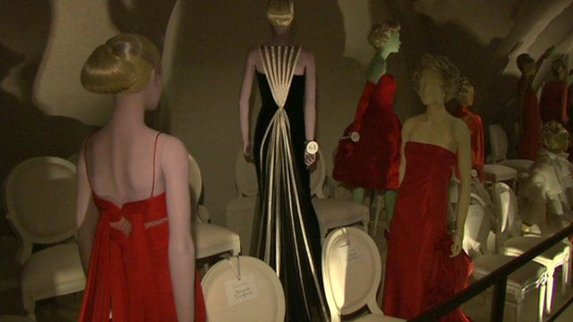 Dresses from the exhibition