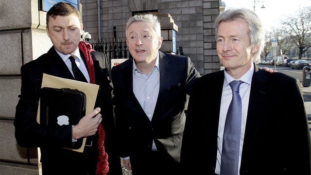 Louis Walsh outside the Hugh Court in Dublin