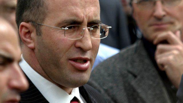 Former Kosovan Prime Minister Ramush Haradinaj