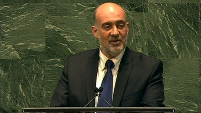 Israeli ambassador to the United Nations Ron Prosor