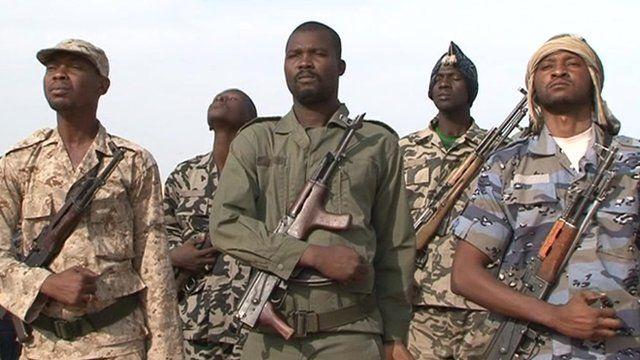 Armed militia