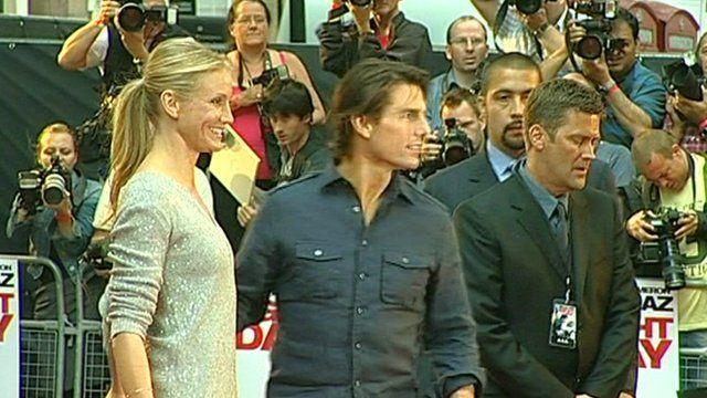 Cameron Diaz and Tom Cruise