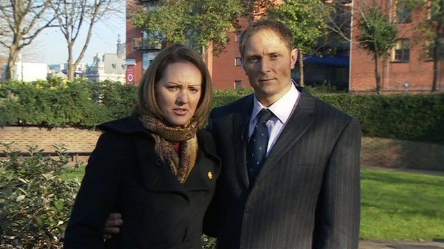 Sgt Danny Nightingale with his wife Sally