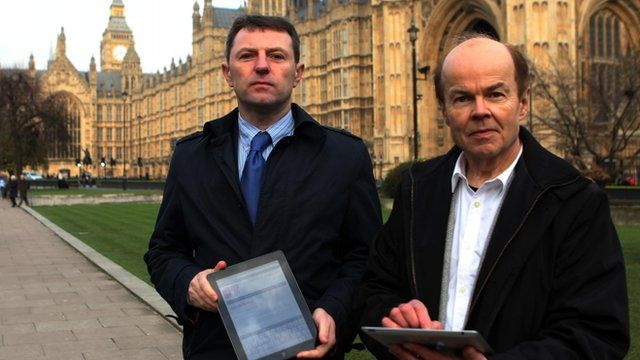 Gerry McCann and Christopher Jefferies launching Hacked Off petition