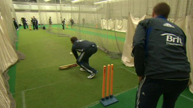 Training session at Edgbaston