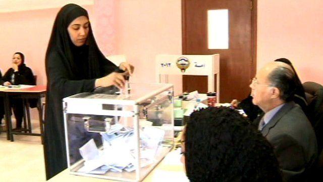 Kuwait voter