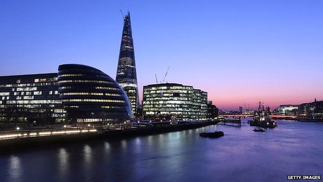 Shard building by River Thames