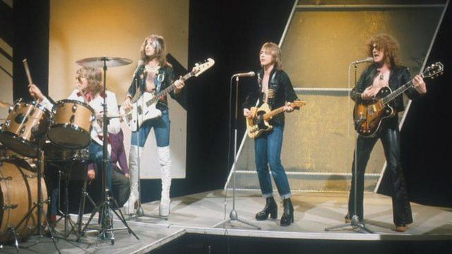 Mott The Hoople film on Top Of The Pops