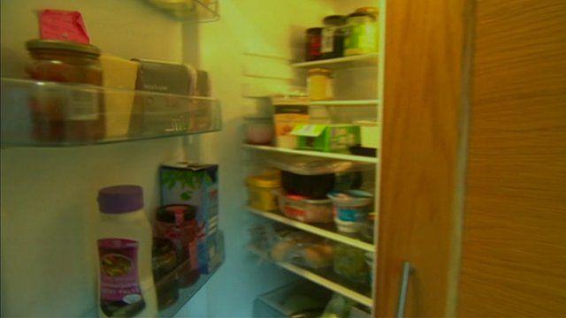Inside a family's fridge