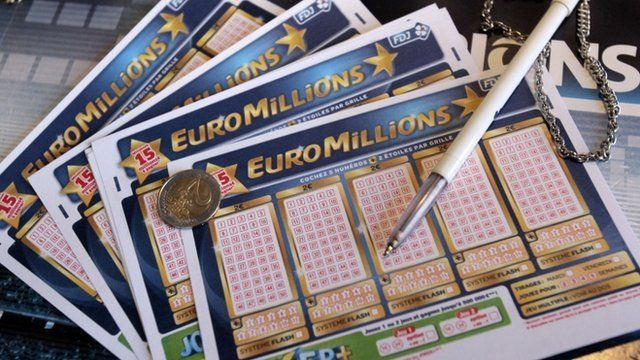 Euromillions lottery tickets