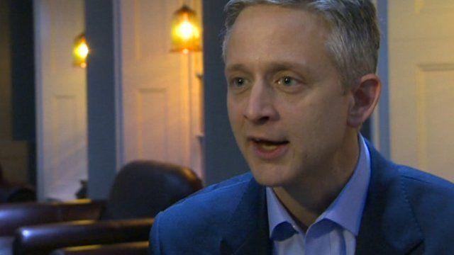 Starbucks' UK managing director Kris Engskov