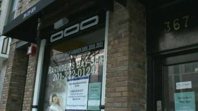 Spa business closed in New Jersey