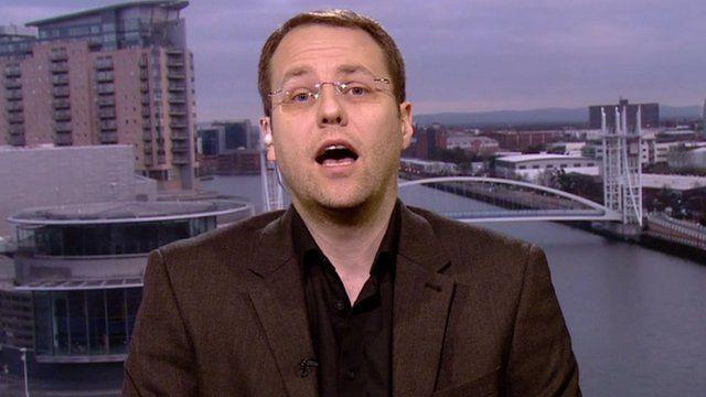 Dr Steve Jones, report author