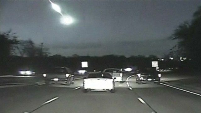 Fireball over motorway