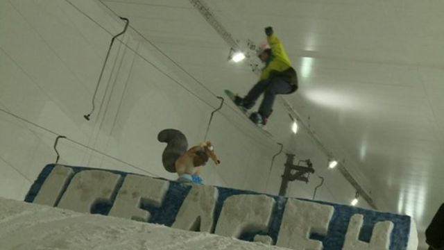 Watch Nel's report from the SNO!ympics...