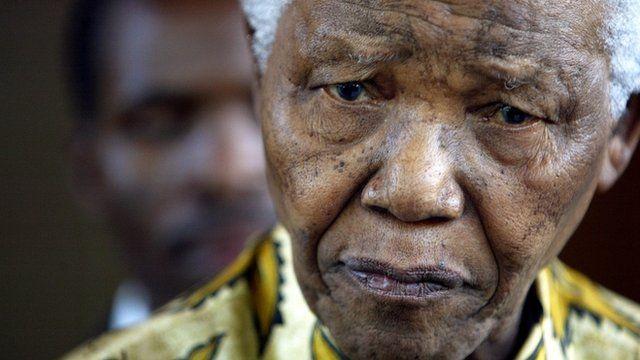 Nelson Mandela file photo (2005)