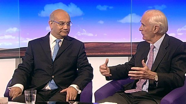 Keith Vaz and Andrew Green