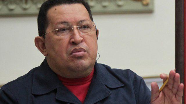 Hugo Chavez. 15 Nov 2012