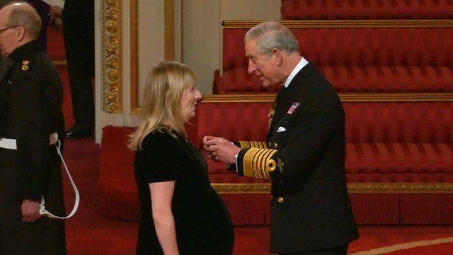 Sarah Burton and Prince Charles