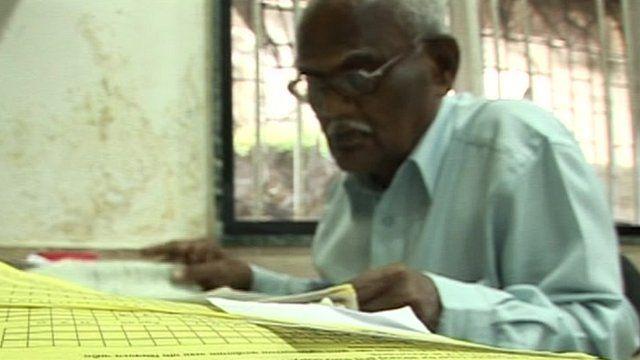 Older Indian worker