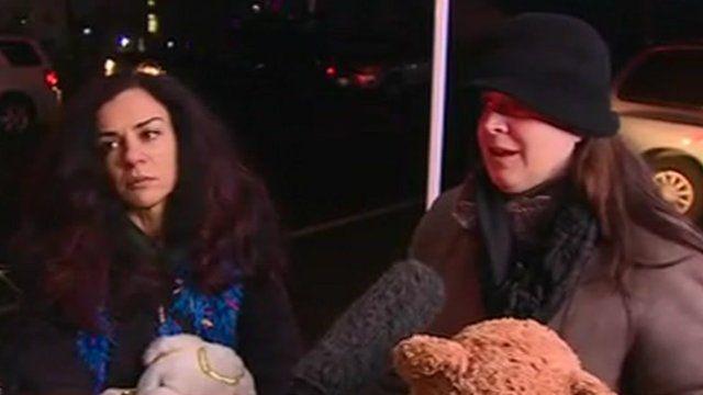 Maryam Ahmadi and Elizabeth Pickel