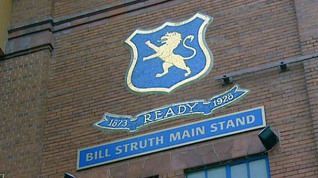 Stand at Ibrox