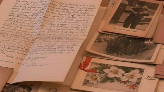 Letters, cards and photographs