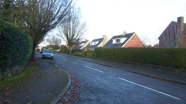 Rookes Lane where the couple live