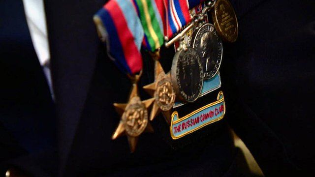 Russian convoy veteran medals