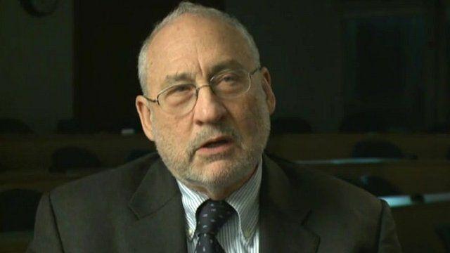 Nobel prize winning economist Joseph Stiglitz