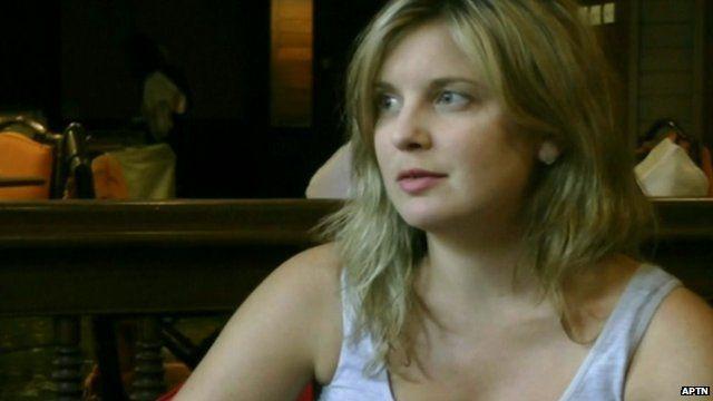 Australian tourist who survived Burma crash