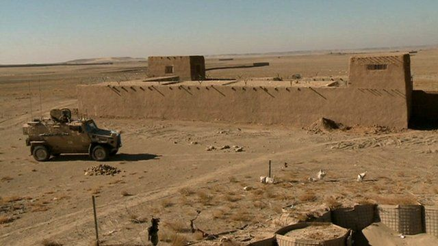 Military fort in Afghanistan