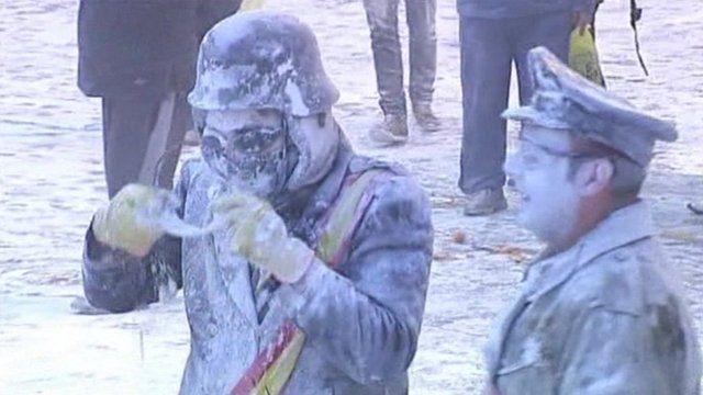 Flour festival in Ibi
