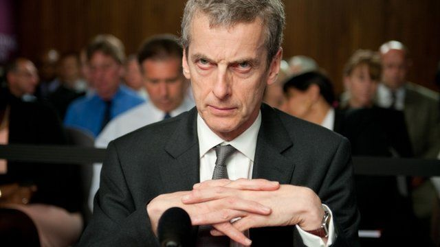 Peter Capaldi as Malcolm Tucker in BBC programme The Thick of It