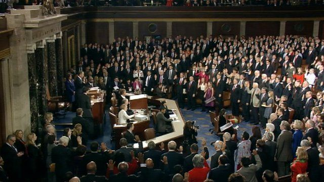The 113th House of Representatives takes the oath of office