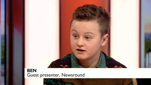 12 year old Ben chats to BBC Breakfast about the special NR show.