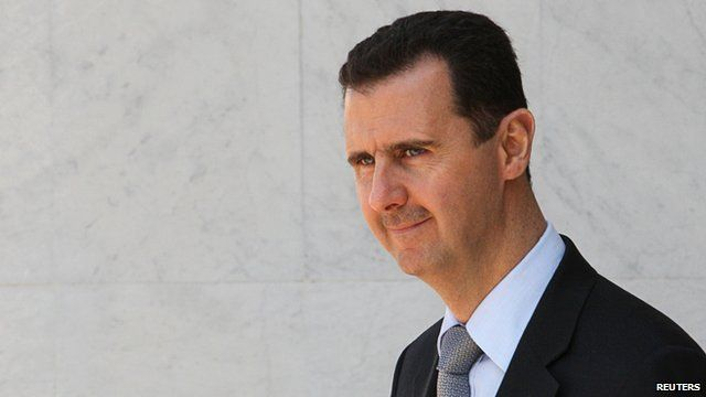 Syrian President Bashar al-Assad (2009)