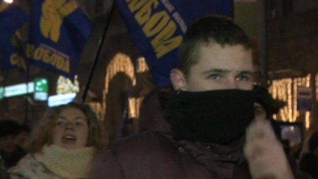 March in Kiev