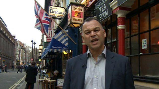 David Thompson and the UK flag