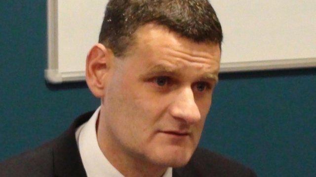 Det Supt Matt Fenwick of South Yorkshire Police