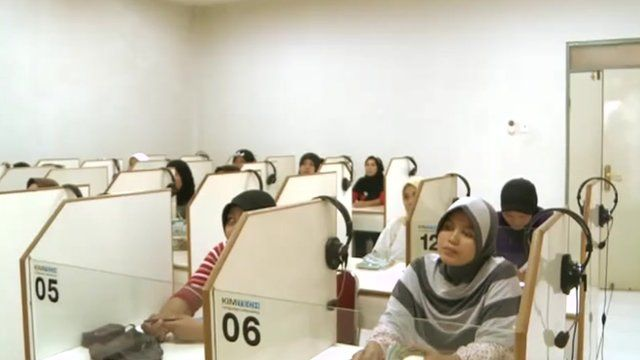 Training migrant domestic workers in Indonesia
