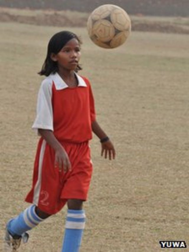How football is changing lives of Indian slum girls