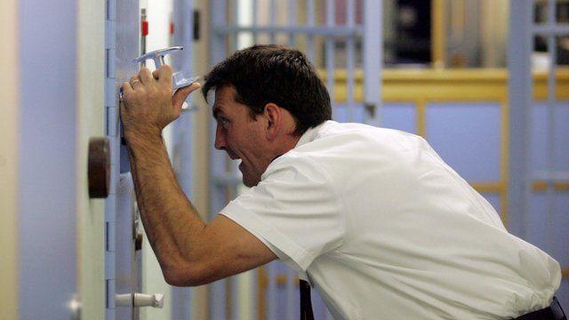 Police custody cell