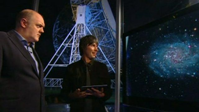 Dara O'Brien and Professor Brian Cox