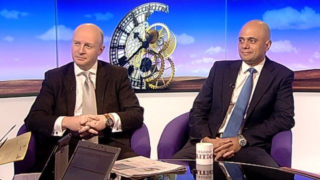 Liam Byrne and Sajid Javid