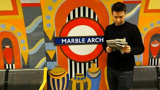 Tim McCready at Marble Arch