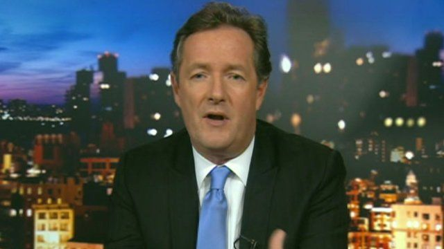 British TV host Piers Morgan