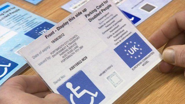 'Fake' blue badge crackdown