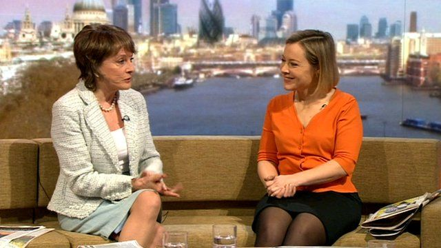 Esther Rantzen and Gillian Tett on The Andrew Marr Show