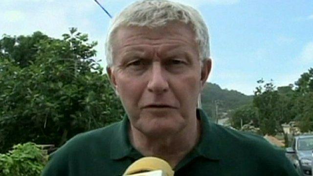 British High Commissioner to Jamaica Howard Drake